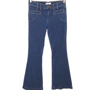 Free People Wide Legs Jeans High Rise 29